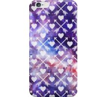 Galactic Tribal Hearts and Arrows iPhone Case/Skin
