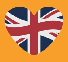 Love Great Britain Heart by Style-O-Mat
