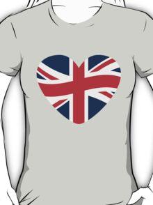 Love Great Britain Heart T-Shirt
