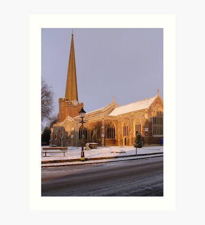 St. Mary's church Art Print