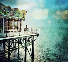 Brighton Pier by Ludwig Wagner