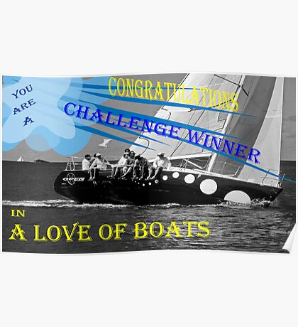 Challenge Winner Poster