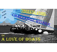 Challenge Winner Photographic Print