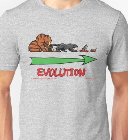 The Evolution of Kitteh Unisex T-Shirt