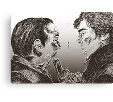 """Face off"" Canvas Print"