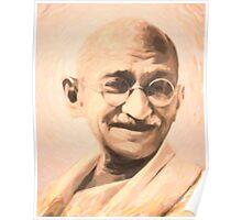 Ghandi Motivation Poster