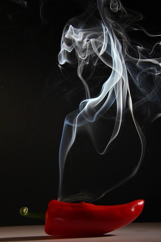 Smokin' Hot Pepper by wonderlandimage
