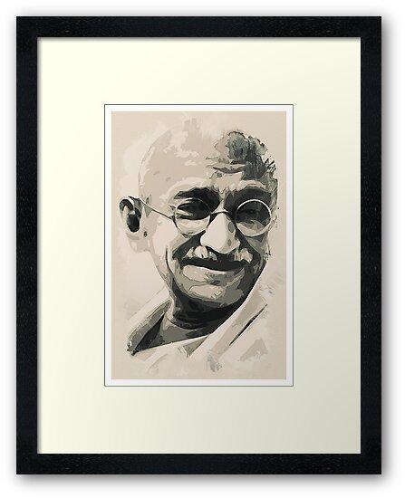 Ghandi smile by MotionAge Media