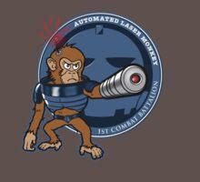 Automated Laser Monkey T-Shirt