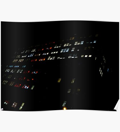 Mondrian Lights. Poster