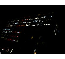 Mondrian Lights. Photographic Print
