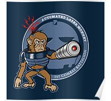 Automated Laser Monkey Poster