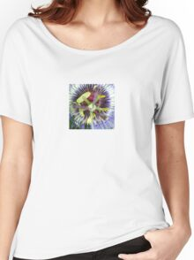 Passion Flower Close Up Women's Relaxed Fit T-Shirt