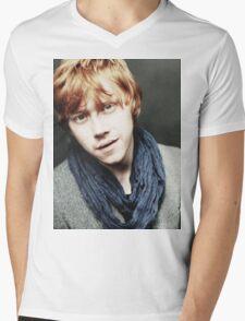 Rupert Grint 'Ronald Weasley' Mens V-Neck T-Shirt