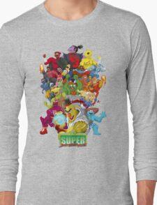 Super Sesame Street Fighter Long Sleeve T-Shirt