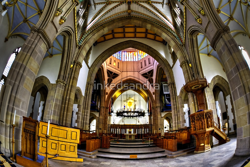 Cathedral Curves by inkedsandra