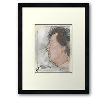 """Goodnight Mr Sherlock Holmes"" Framed Print"