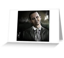 Jim Moriarty HI Greeting Card
