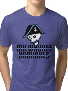 Milwaukee Admirals Tri-blend T-Shirt