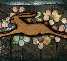 Leaping Rabbit by Cherie Balowski