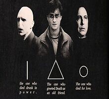 The Deathly Hallows Trio by Arrianne Gagen