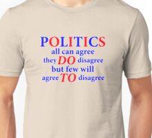 agree to disagree Unisex T-Shirt