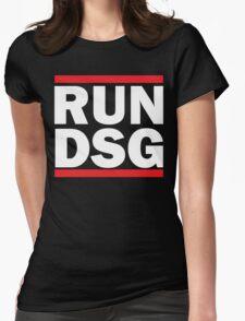 RUN DSG Graphic Womens Fitted T-Shirt