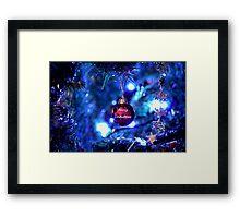 Red Bauble for Christmas Framed Print