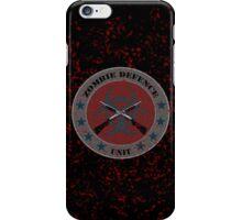 Zombie Defense Unit iPhone Case/Skin