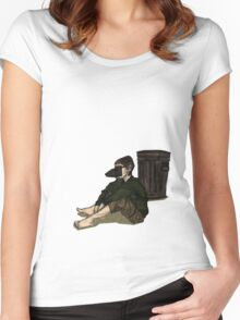 Rat Boy Women's Fitted Scoop T-Shirt
