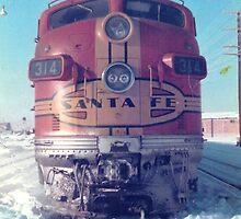 Santa Fe F7 A Unit  by Jamie Baldwin