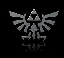 Hylian Crest by Evender