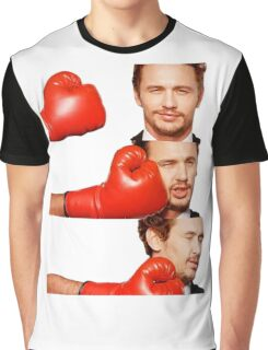 James Franco gets the humor knocked out of him Graphic T-Shirt
