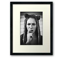 Teddy Bear I Framed Print