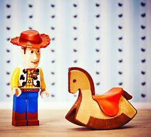Rocking Horse Cowboy by iElkie