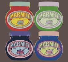 Marmite pop art Kids Clothes