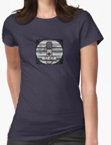 Classic - Neumann U47 Vintage Microphone Womens Fitted T-Shirt