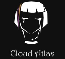 Cloud Atlas: Somni - Black T-Shirt by Molly Atlas