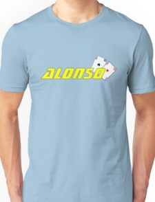 Fernando Alonso (home colours) Unisex T-Shirt