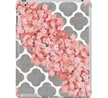 hydrangea and gray clover iPad Case/Skin