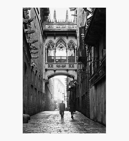 Barri Gotic, Barcelona Photographic Print