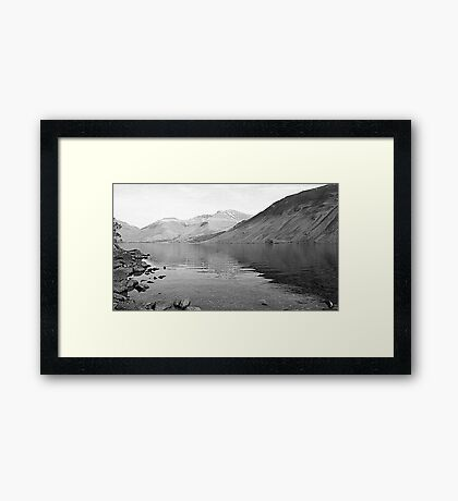 Wast Water, Lake District National Park Framed Print