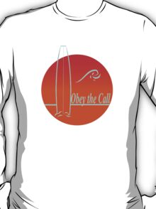Obey The Call : Surf T-Shirt