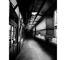 Small Town Station Photographic Print