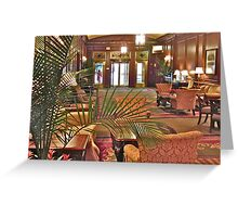 Parker House Hotel Greeting Card