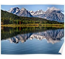 Oxbow Bend - Grand Tetons National Park, Wyoming Poster