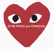 Je Ne Parle Pas Français Kids Tee