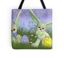 Easter Bunny Children's Wall Art Tote Bag