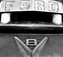 Old Ford Grill by Mark Shearin
