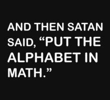 And then Satan said by SMalik